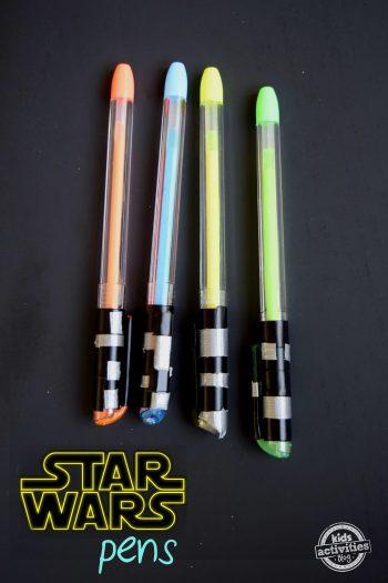 make a lightsaber pen