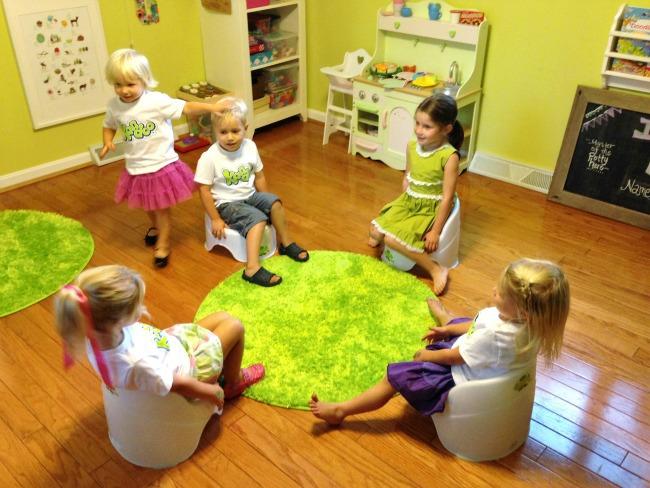 party potties - potty training