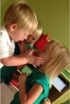 So the Toddlers Got into an Argument, and then His Heart Got Poked, in the Cutest Possible Way