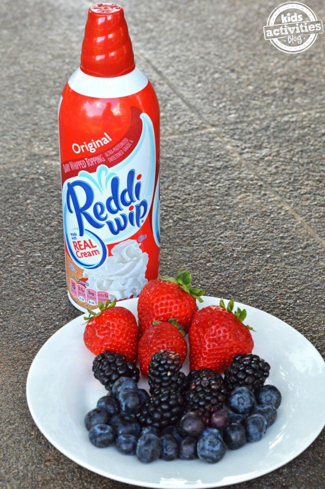 reddi-wip with berries