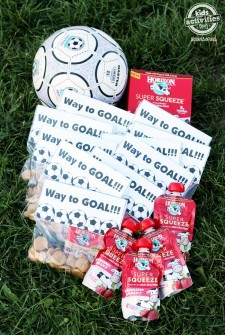 Awesome Soccer Snacks With Free Printable