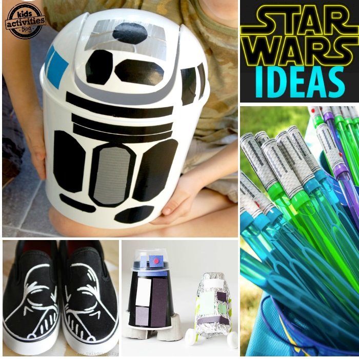 star wars crafts and activity ideas