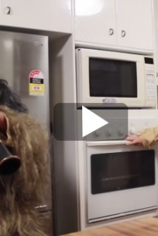 The Oven Kid Strikes Again – This time the Force is with him.