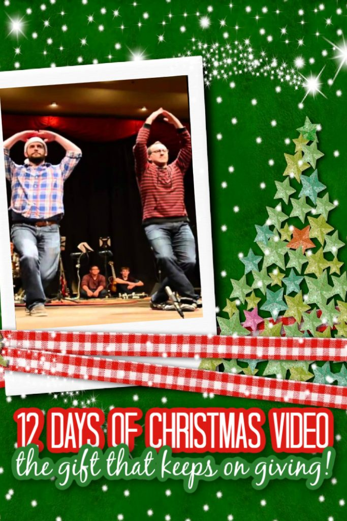 12 Days of Christmas video - gift that keeps on giving - Kids Activities Blog