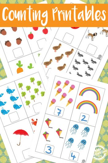 Counting Printables
