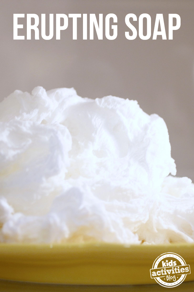 Erupting Soap