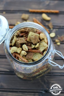 Kids Toasted Trail Mix!