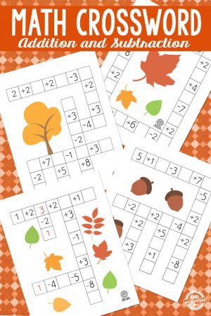 Fall Math Crossword
