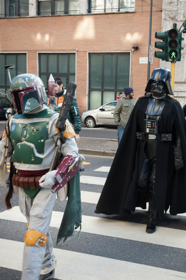 Star Wars Street Crossing