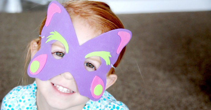 silly animal mask for kids