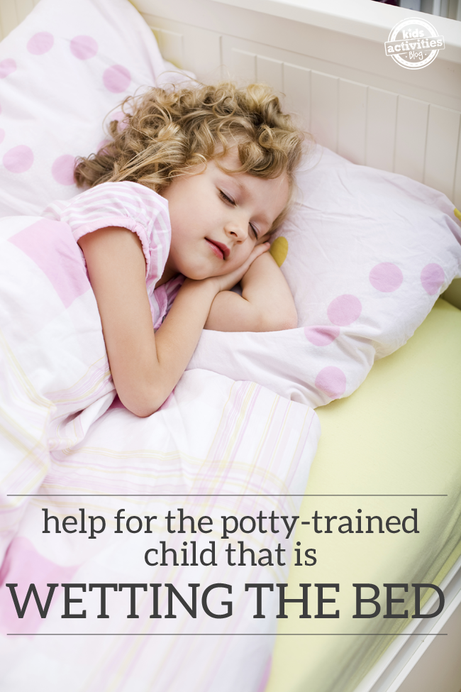 how to keep my child from wetting the bed