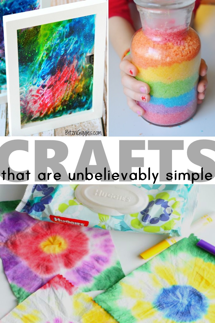 crafts that are very simple