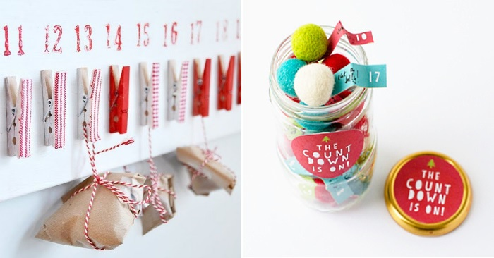 holiday countdown ideas