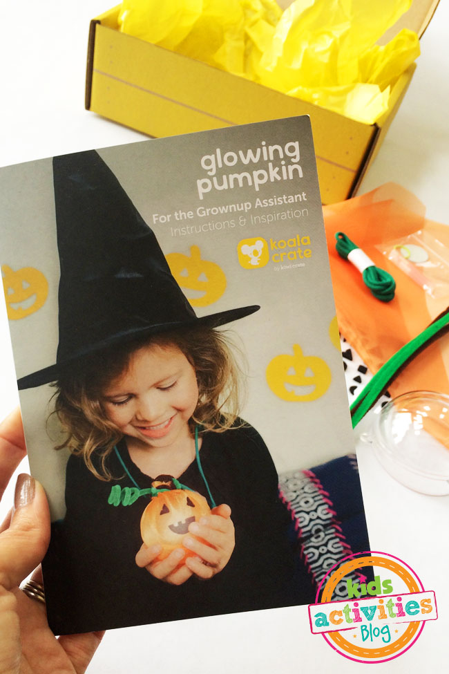 Glowing pumpkin kit