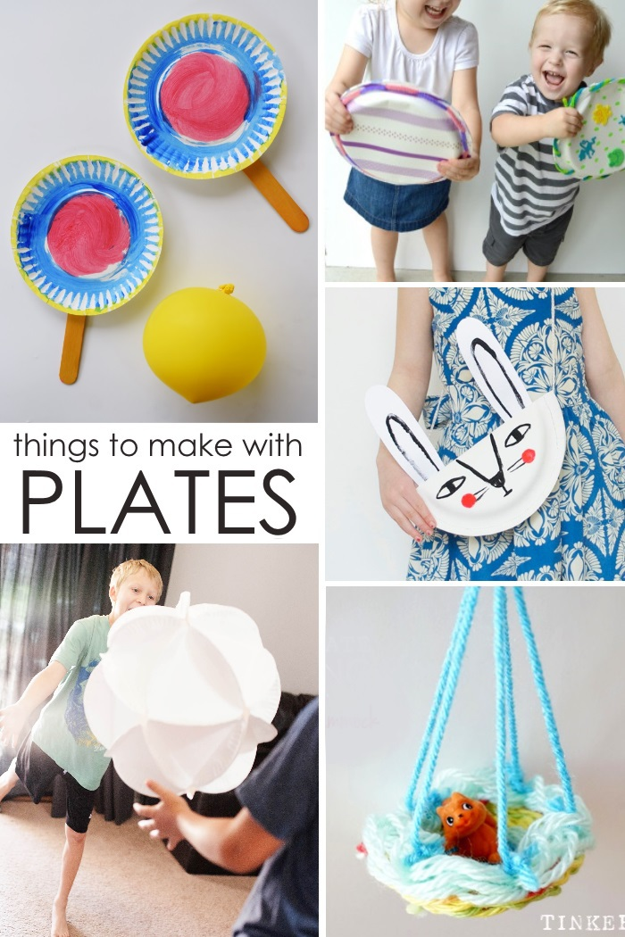 Crazy things you can make with a paper plate for Things to make with paper
