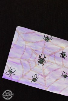 Watercolor Spider Webs Craft (Perfect for Classrooms)