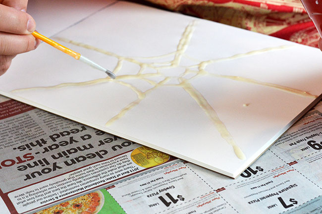 watercolor spider webs inprocess2