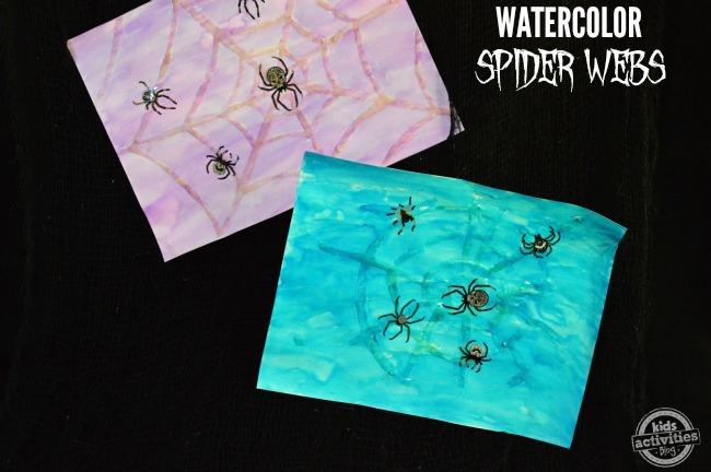 watercolor spider webs2