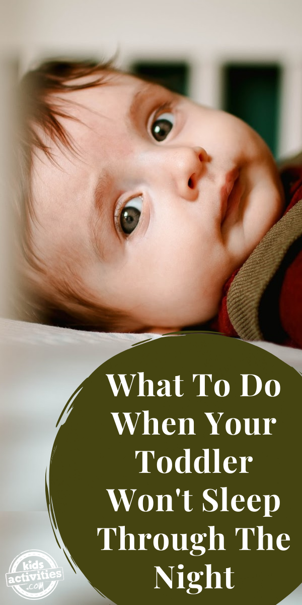 One Year Old Won't Sleep Through The Night – 20 Tips to Help – starkidslearn.com