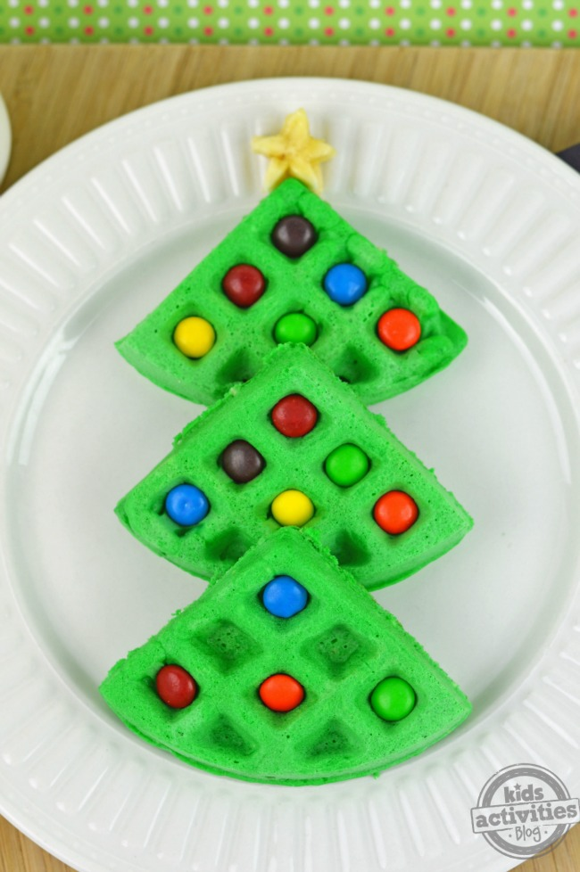 Christmas Tree Waffles3