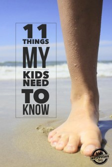 11 Things I Want My Kids to Always Know
