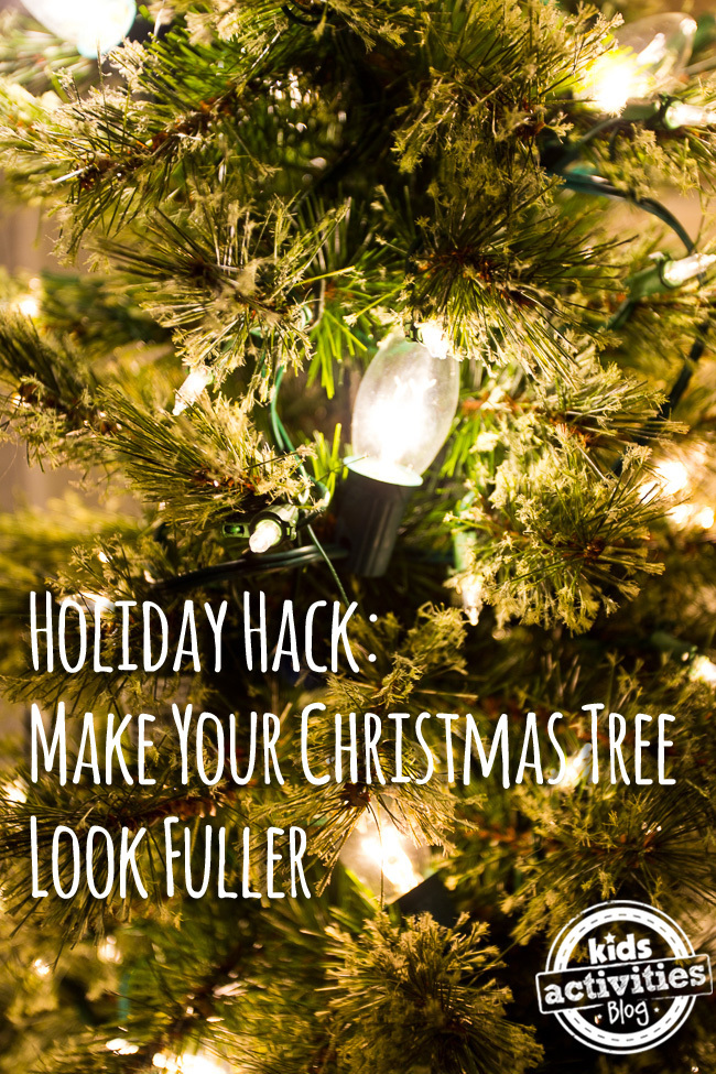Make Your Tree Look Fuller