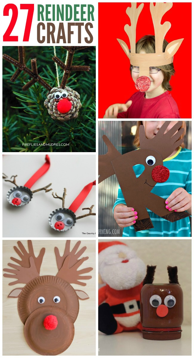 b194dd613 27 Adorable Reindeer Crafts To Make
