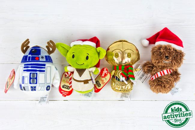 Star Wars itty bittys from Hallmark