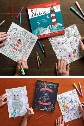 15 Beautiful Adult Coloring Books
