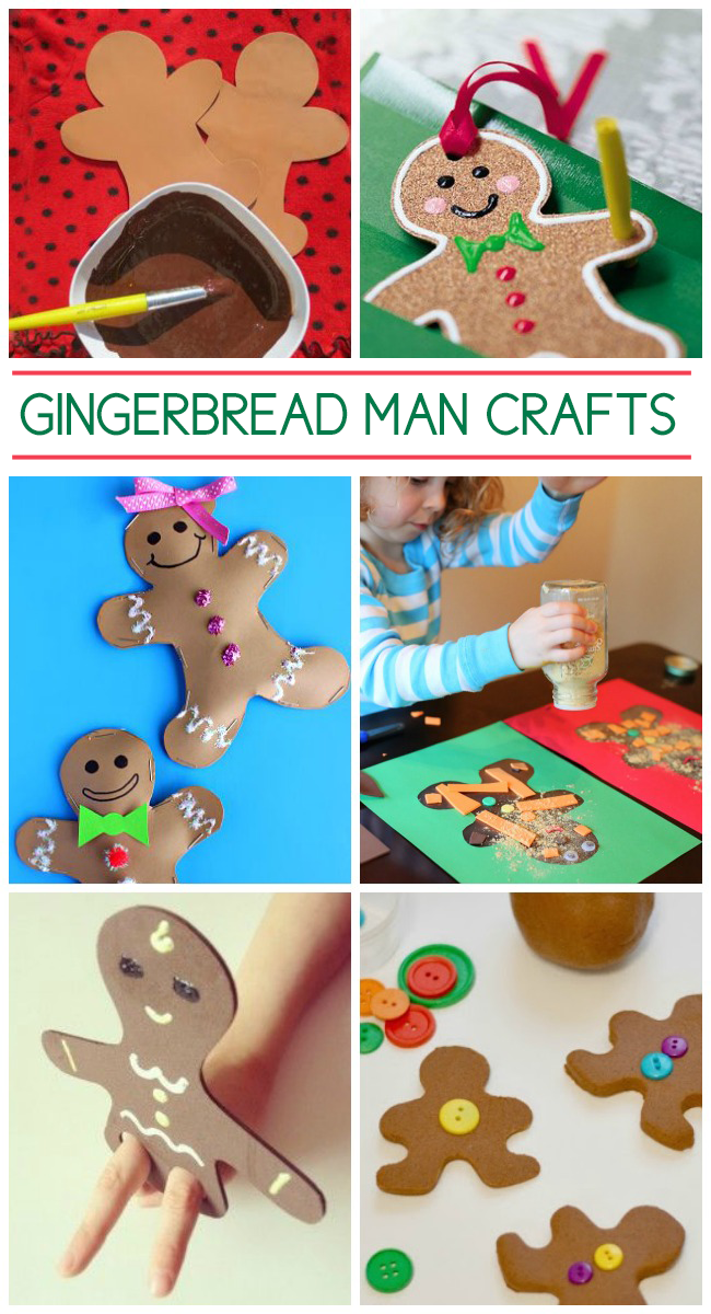 20 adorable gingerbread man crafts for Craft projects for men