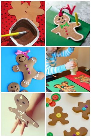 20 Adorable Gingerbread Man Crafts
