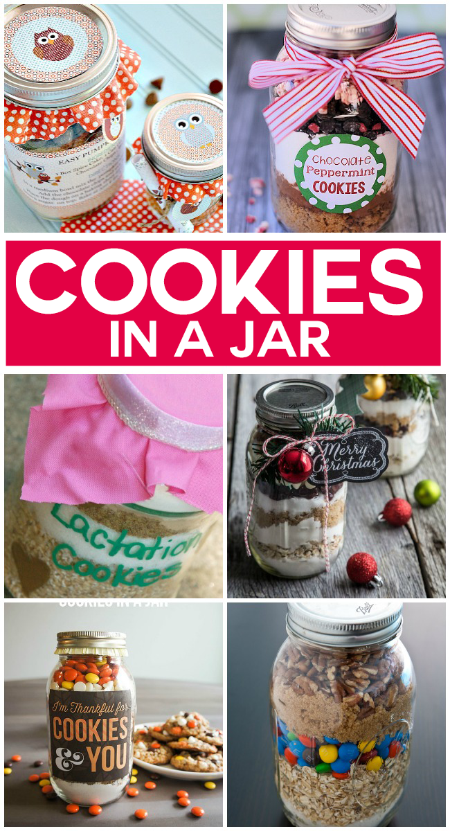 20 Yummy Cookies In A Jar