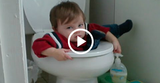 When things like THIS happen to kids, I never know whether to laugh or help...