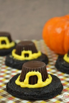 Homemade Pilgrim Hat Cookies