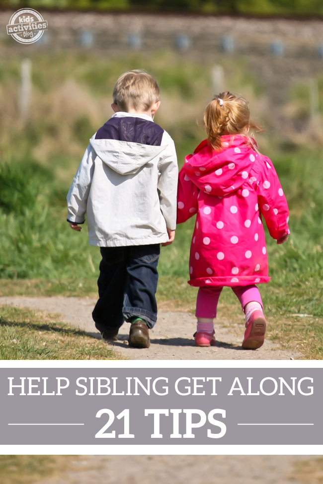 21 Tips to Help Siblings Get Along