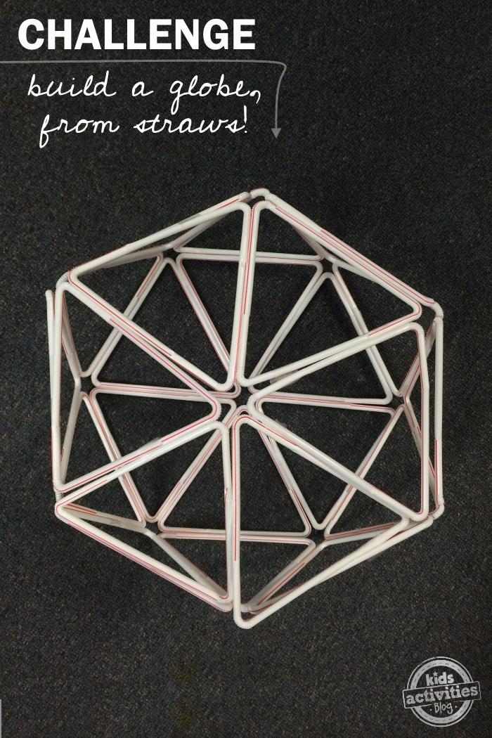 straw globe - A STEM challenge