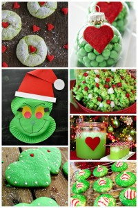 25 Grinch Crafts & Sweet Treats