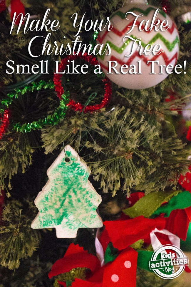 make your fake christmas tree smell like a real tree - Christmas Tree Smell