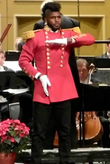 It sounds like a normal Nutcracker Suite, but then HE comes on stage