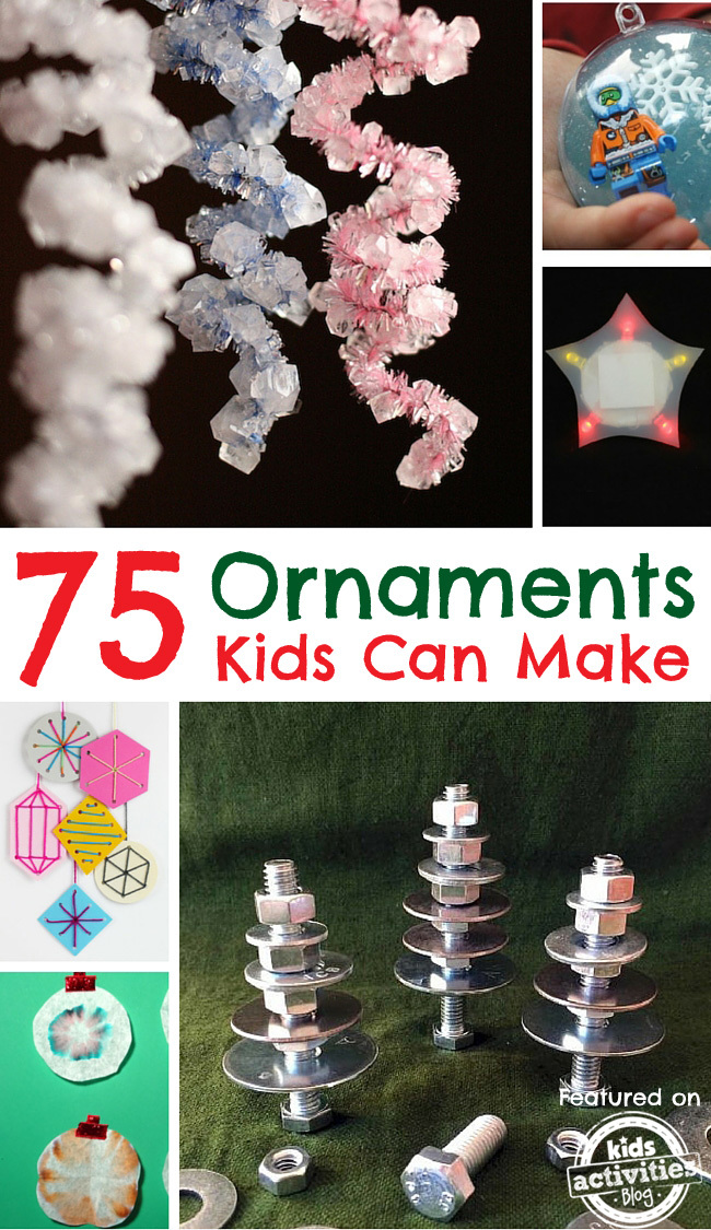 STEM Ornaments for Kids