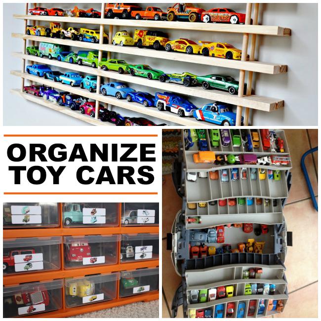 Toy Cars Holder Shelf : Clever toy car storage ideas