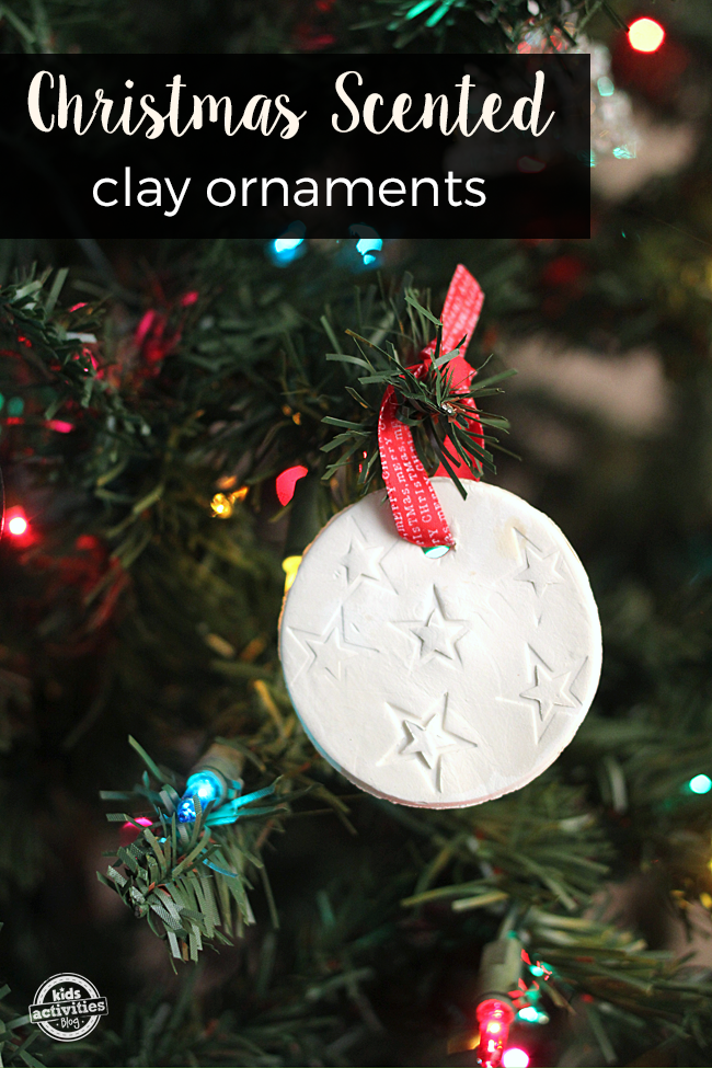 Christmas Scented Homemade Clay Ornaments