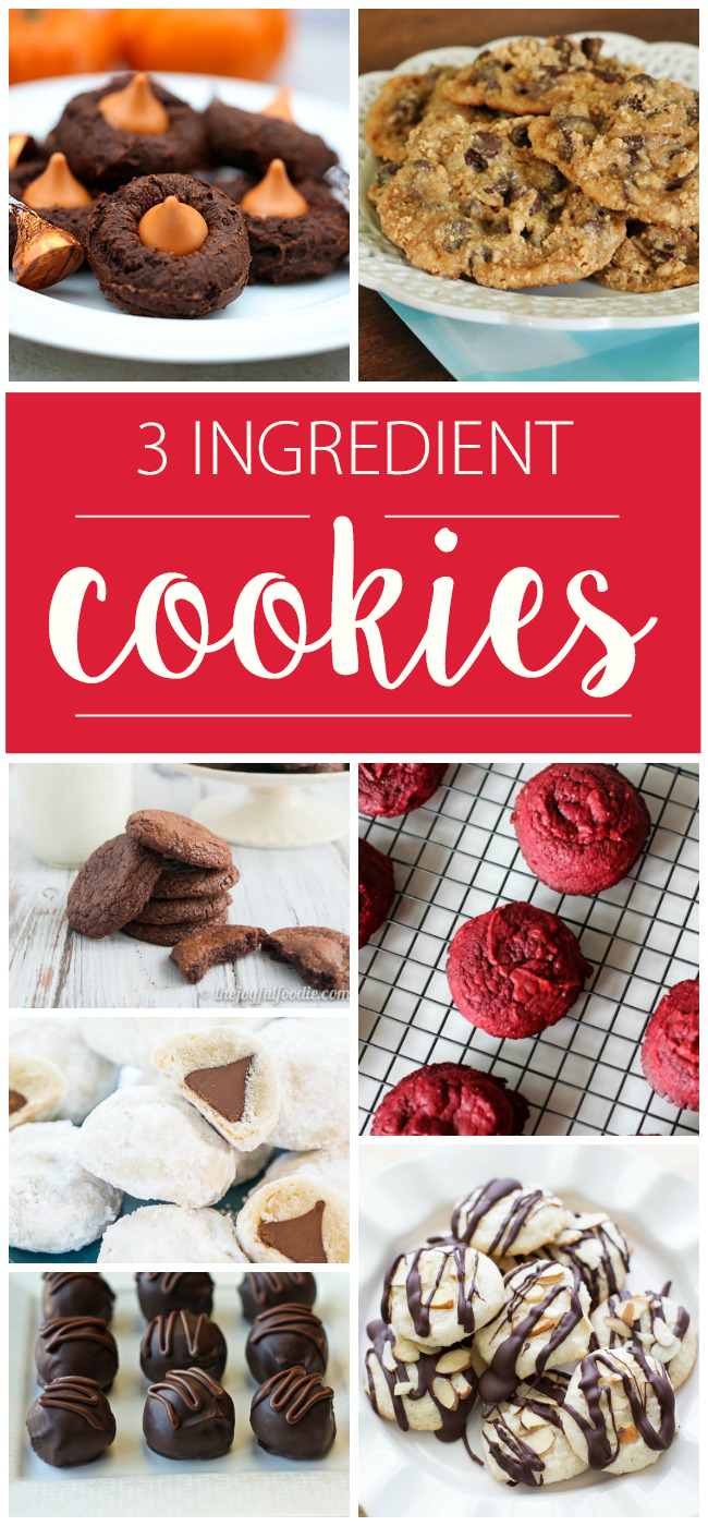 Easy Cookie Recipes With Cake Mix
