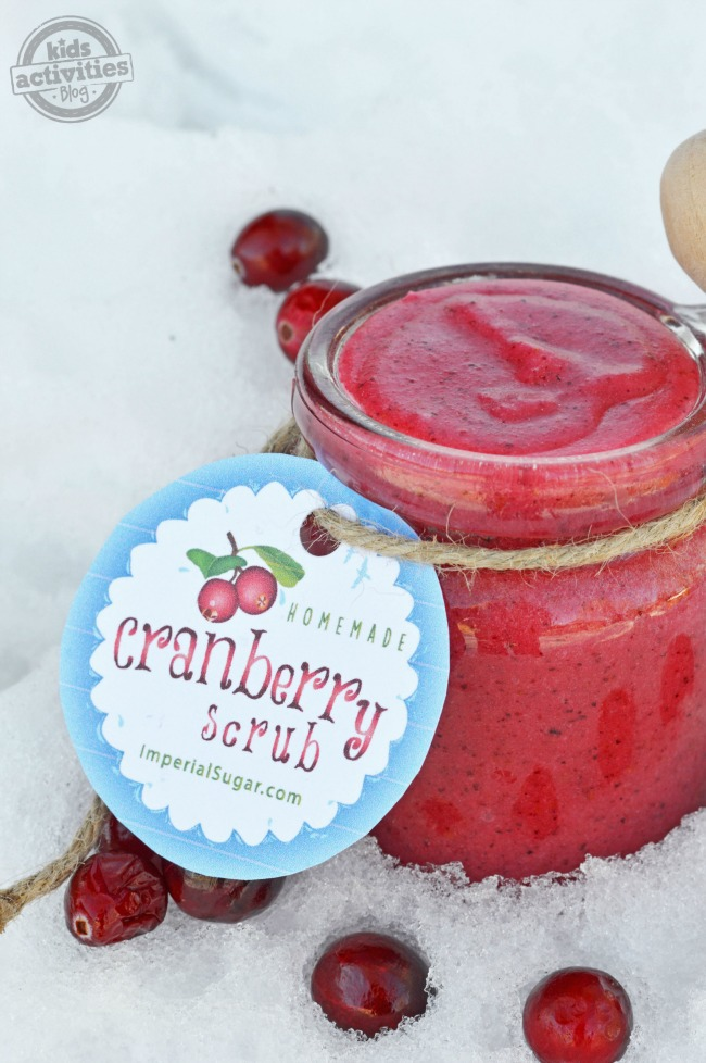 cranberry sugar scrub3
