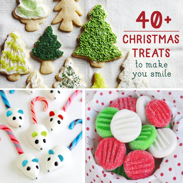 40+ Fun Christmas Treats To Make With Your Family