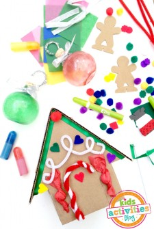 Colorful Creative Christmas Crafts from Kiwi Crate