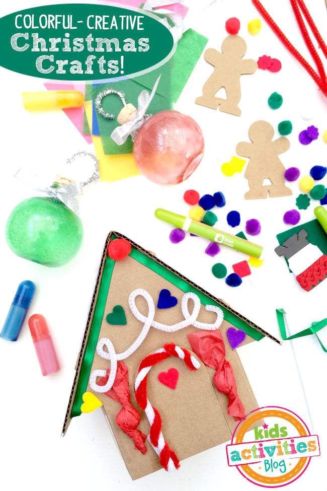 Christmas Craft Kits from Kiwi Crate