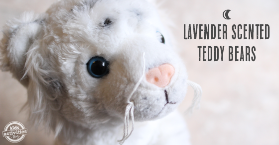 Lavender Scented Teddy Bears