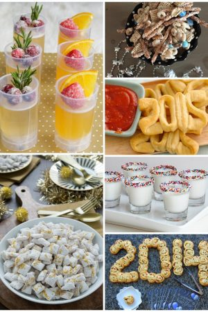15 New Years Eve Snacks for Kids