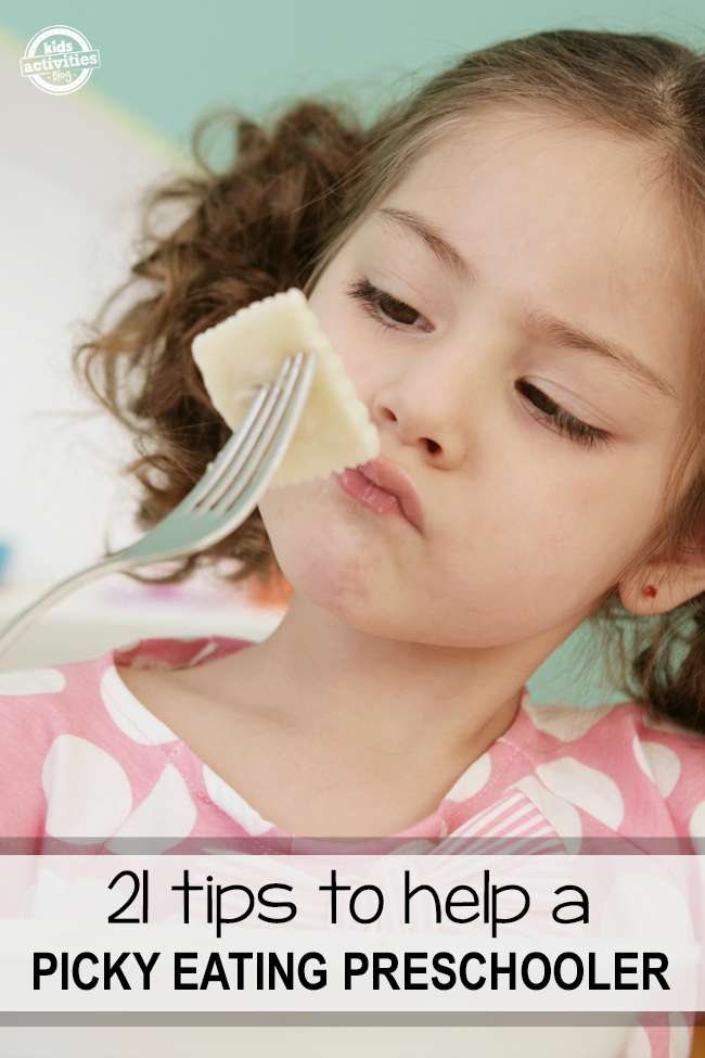 Over 21 Ways To Help A Picky Eating Preschooler